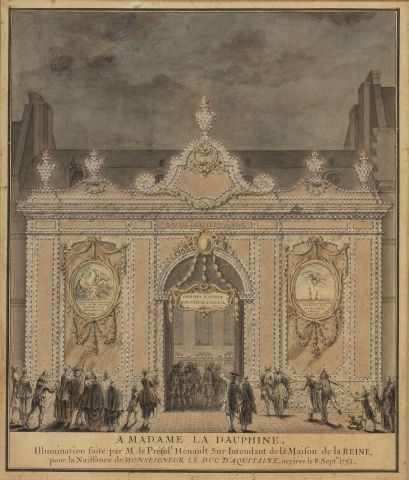 Attribué à Jacques-François BLONDEL (Rouen...