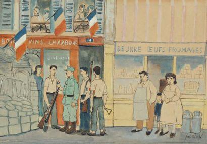 Jean OBERLE (Brest 1900-Paris 1961)