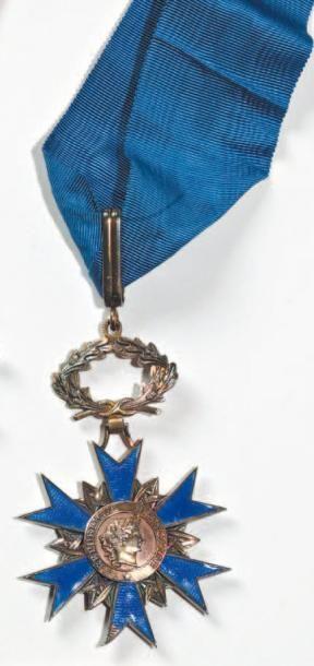 Ordre du Mérite Croix de commandeur en vermeil...