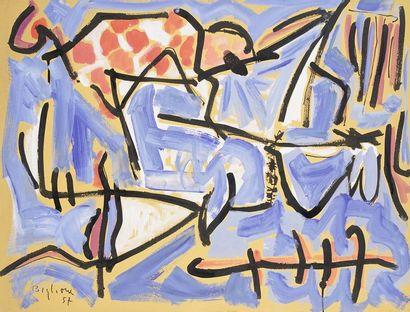 Annibale BIGLIONE (1923 - 1981)  Composition...