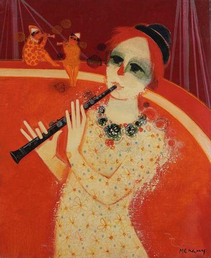 Frédéric MENGUY (1927-2007)  Musicien aux...