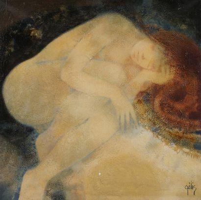 Daniel GÉLIS (Né en 1942)  Après nuit  Huile...
