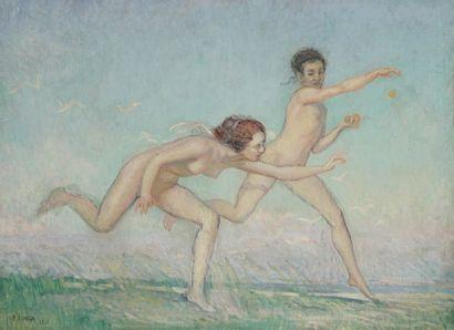 René Charles Eugène LONGA (Né en 1878)  Jeunes...