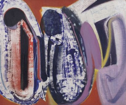 Pierre GASTAUD (1920-2009)  Composition abstraite...