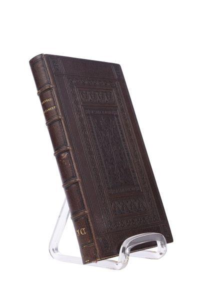 Nouveau Testament  Traduit sur la Vulgate...