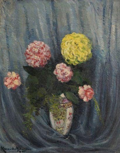 Alexandre ALTMANN (1885-1950)  Bouquet de...