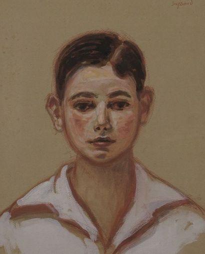 René SEYSSAUD (1867-1952)  Portrait d'enant...