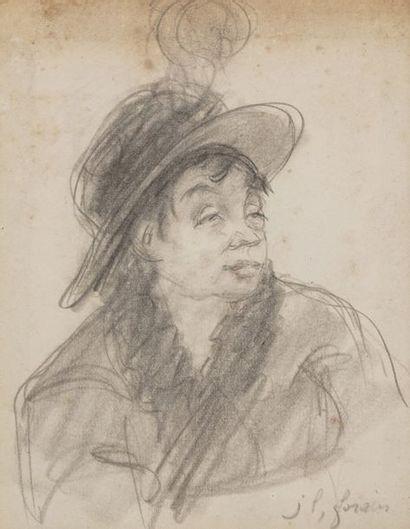 Jean-Louis FORAIN (1852-1931)  Portrait d'une...