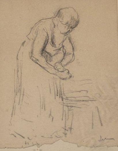 Maximillien LUCE (attribué à) (1858 - 1941)...