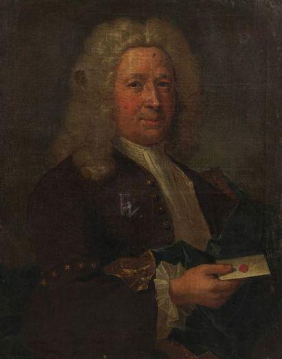 Ecole française du XVIII ème  Portrait de...