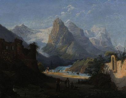 Antonio Sminck PITLOO (1791-1837) (attrib....