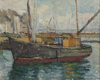 Charles Emmanuel JODELET (1883-1969)  Douarnenez,...