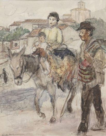 Charles Emmanuel JODELET (1883-1969)  Sur...