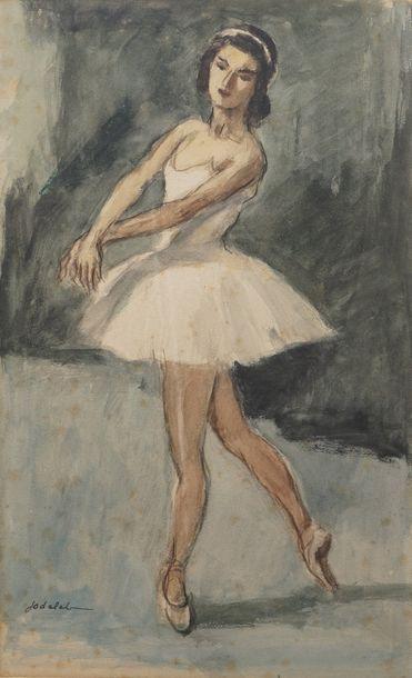 Charles Emmanuel JODELET (1883-1969)  Ballerine...