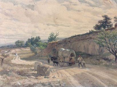 Florian N. CABANE (1831-1922)  Paysanne à...