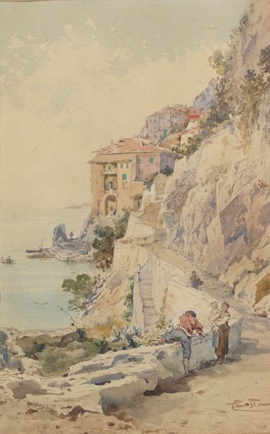 Emmanuel COSTA (1833-1921)  Villefranche...