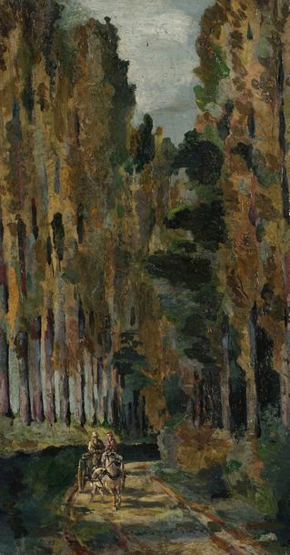 Henri Alexandre SOLLIER (1886-1966)  Scènes...
