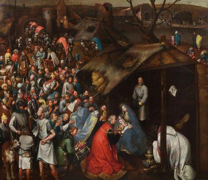 Ecole FLAMANDE vers 1600, Atelier de Pierre...
