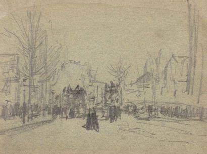 Luigi LOIR (Goritz 1845 - Paris 1916) Place...