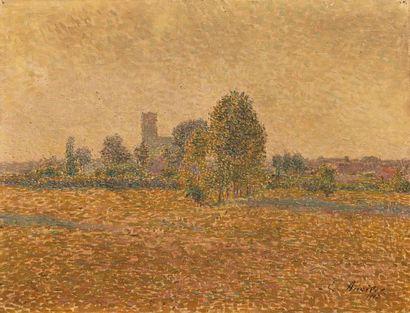 Emile ANCELET (1865-1951) Landscape, 1907...
