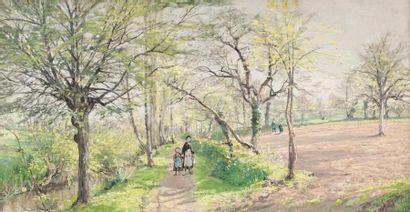 Ludovic PIETTE (Niort 1826 - Paris 1877)...