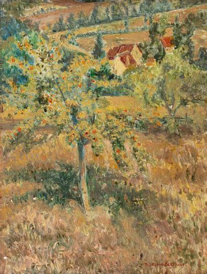 Paul SEGUIN-BERTAULT (1869-1964) Orchard,...