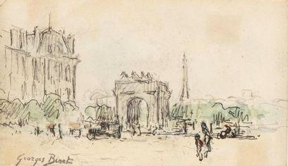Georges BINET (1865-1949) Le Carrousel du...