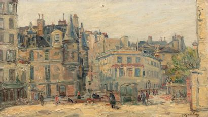 Gustave MADELAIN (Charly 1867 - 1944) Les...