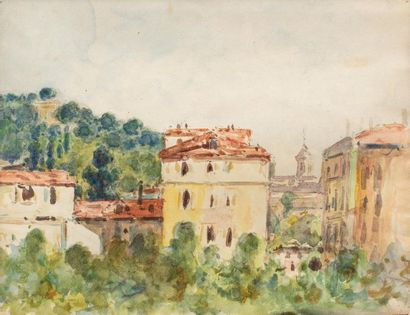 Auguste PEGURIER (1856 - 1936) Studio view...