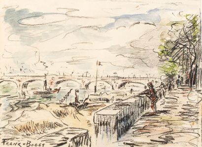 FRANK-BOGGS (Springfield 1855 - Meudon 1926)...