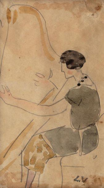 Louis VALTAT (Dieppe 1869 - Paris 1952) The...