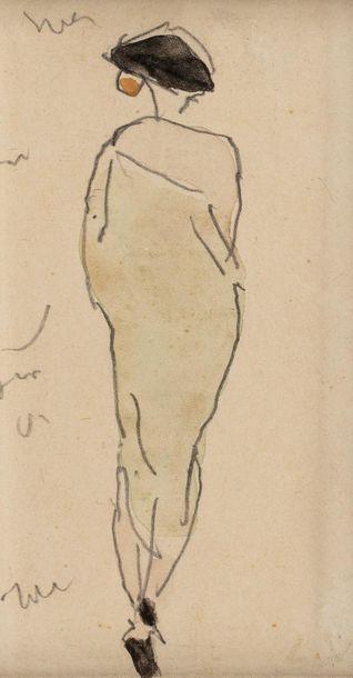 Louis VALTAT (Dieppe 1869 - Paris 1952) Woman...