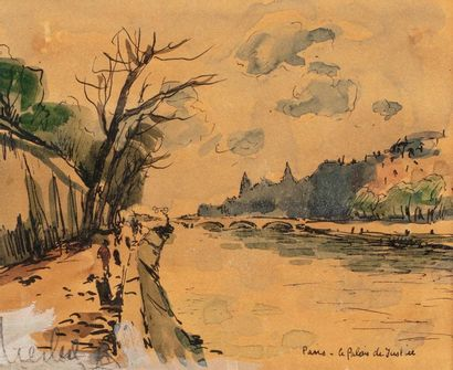 Fernand HERBO (Orchies 1905 - Honfleur 1995)...