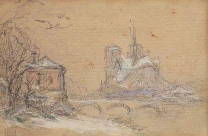 Claude Emile SCHUFFENECKER (1851 - 1934)...