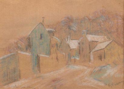 Gustave LOISEAU (Paris 1865-1935) Ruelle...