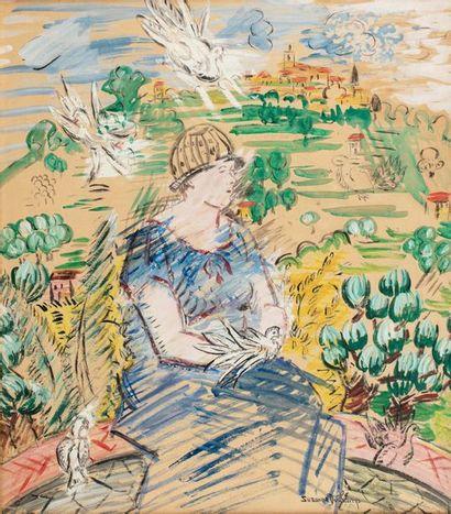 Suzanne DUCHAMP (Blainville 1889 - Neuilly-sur-Seine...