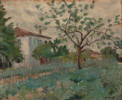 Willem VAN HASSELT (1882-1963) Maison et...