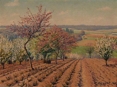 Gustave CARIOT (Paris 1872-1950) Arbres en...
