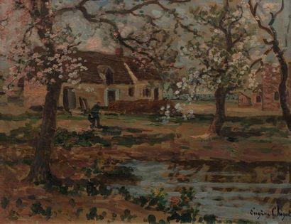 Eugène CHIGOT (Valenciennes 1860- Paris 1923)...