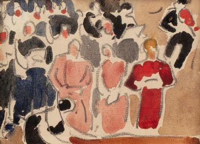 Louis VALTAT (Dieppe 1869 - Paris 1952) La...