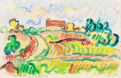 Louis NEILLOT (Vichy 1898- Paris 1973) Verneuil...