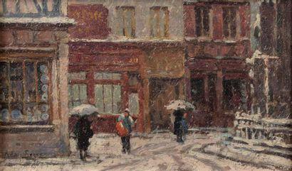 Adrien SEGERS (Ixelles 1876- Rouen 1950)...
