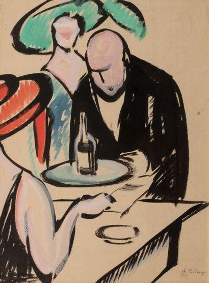 Pierre DE BELAY (Quimper 1890 - Ostende 1947)...