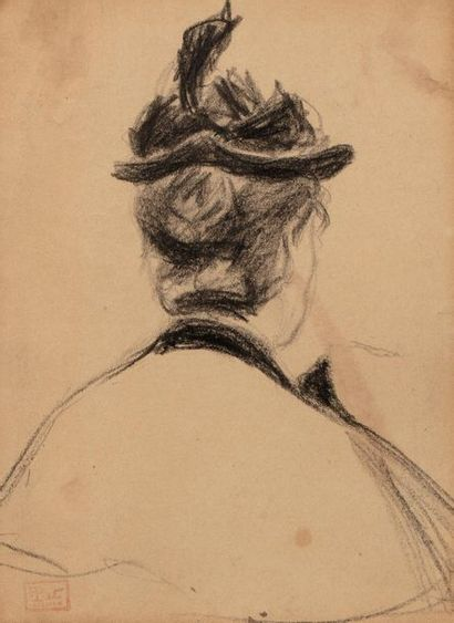 Fernand PIET (Paris 1869 - 1942) Femme de...