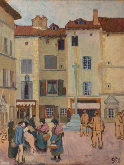 Attribué à Georges Daniel de MONFREID (1856-...