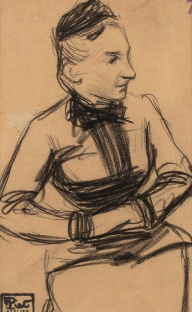 Fernand PIET (Paris 1869 - 1942) Vieille...