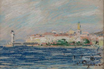 Auguste PEGURIER (1856 - 1936) Port de Saint...