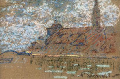 Auguste PEGURIER (1856 - 1936) Martigues...
