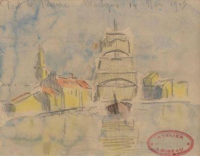 Gustave LOISEAU (Paris 1865-1935) Port de...