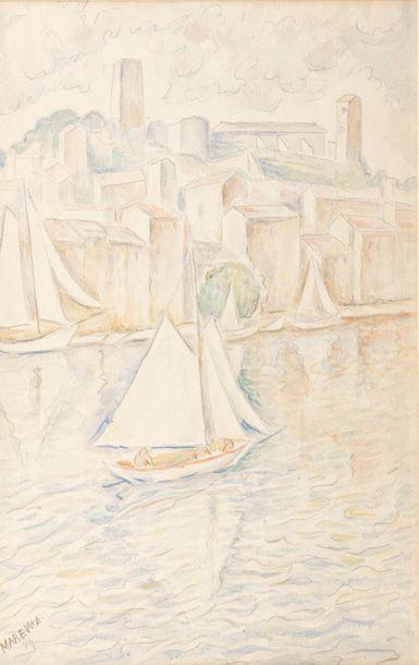 Marie VOROBIEFF MAREVNA (Tcheboksary 1892-London...